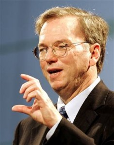 Eric Schmidt - CEO Google - Totale profilering als doel