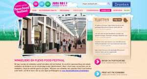 Flevo Food Festival - Website