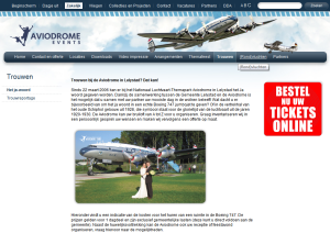 Aviodrome Website