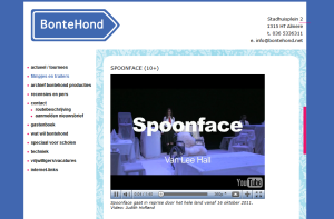 BonteHond website