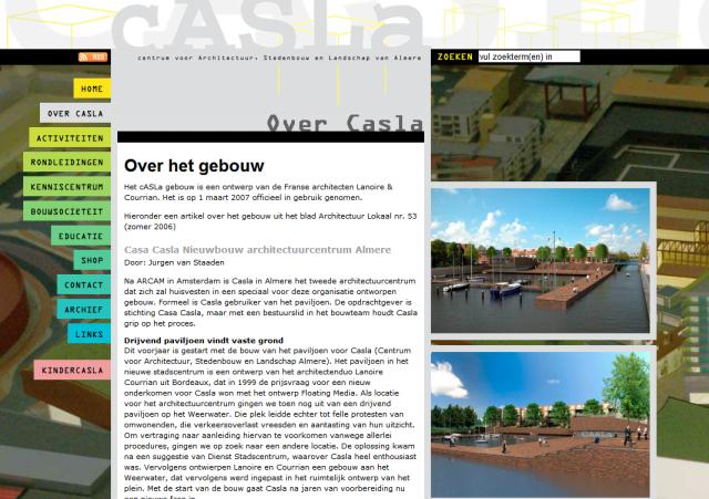 Casla website
