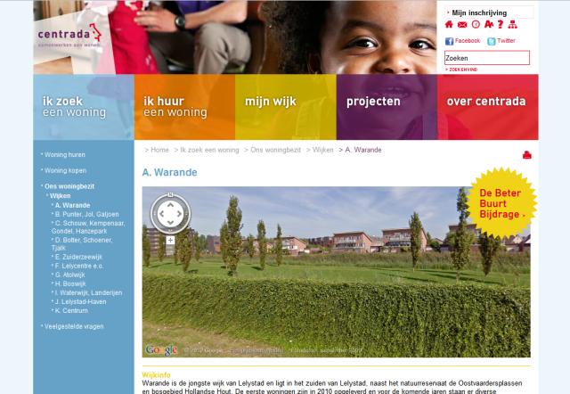 Nieuwe website Centrada
