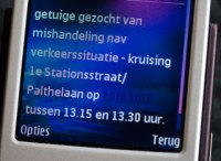 NL-Alert melding