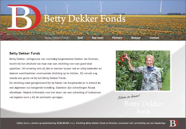 Betty Dekker Fonds