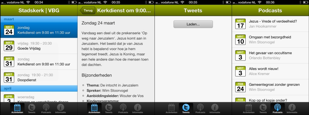 Kerk App VBG