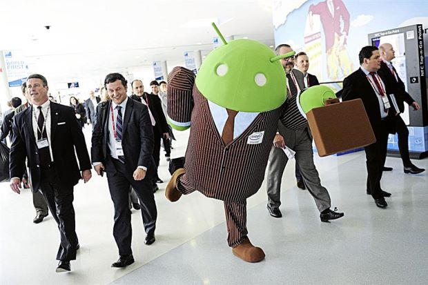 Android running