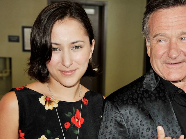 Zelda en Robin Williams