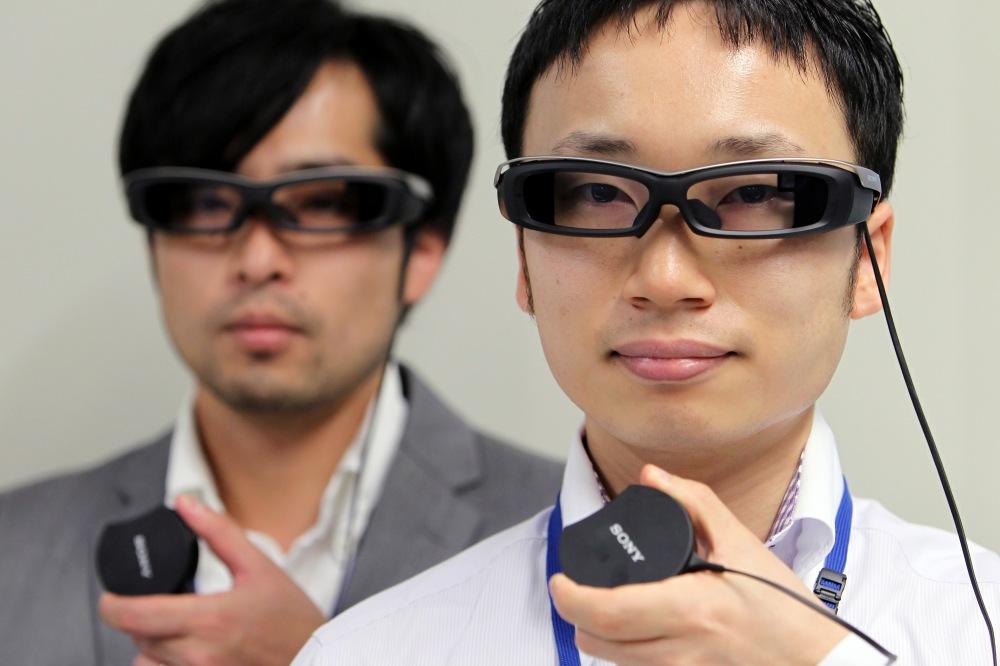 SmartEyeGlass from Sony