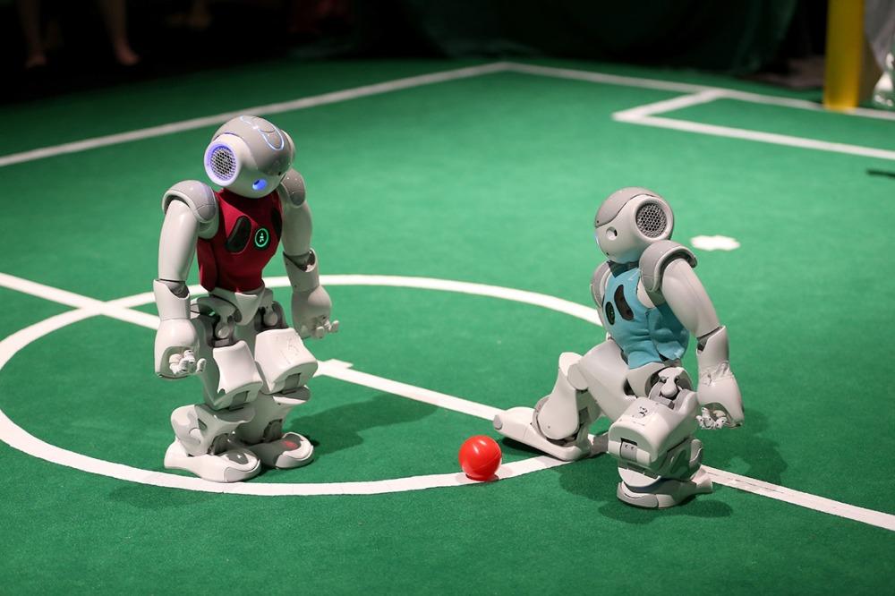 robot-football