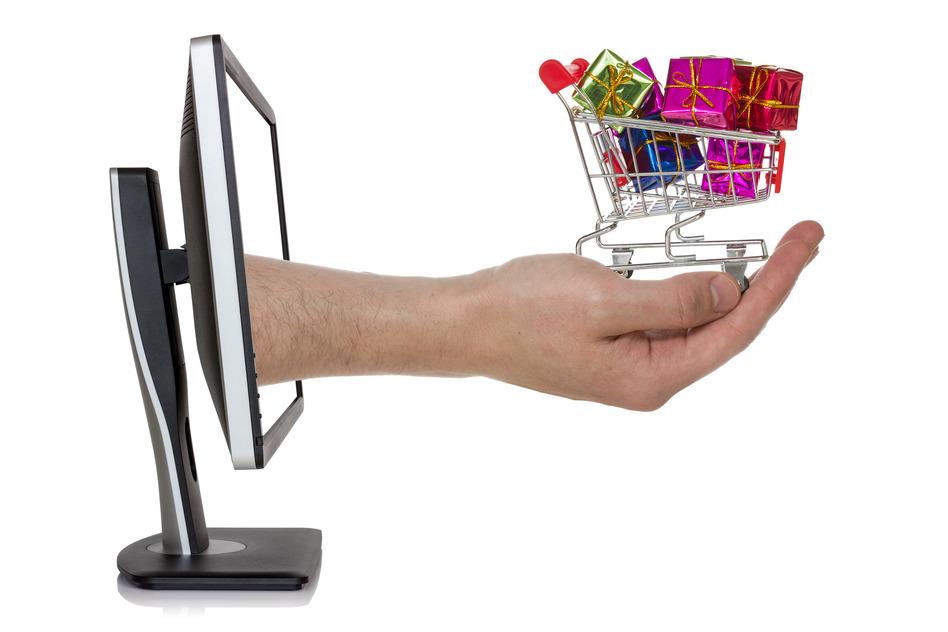 Concept of e-shopping