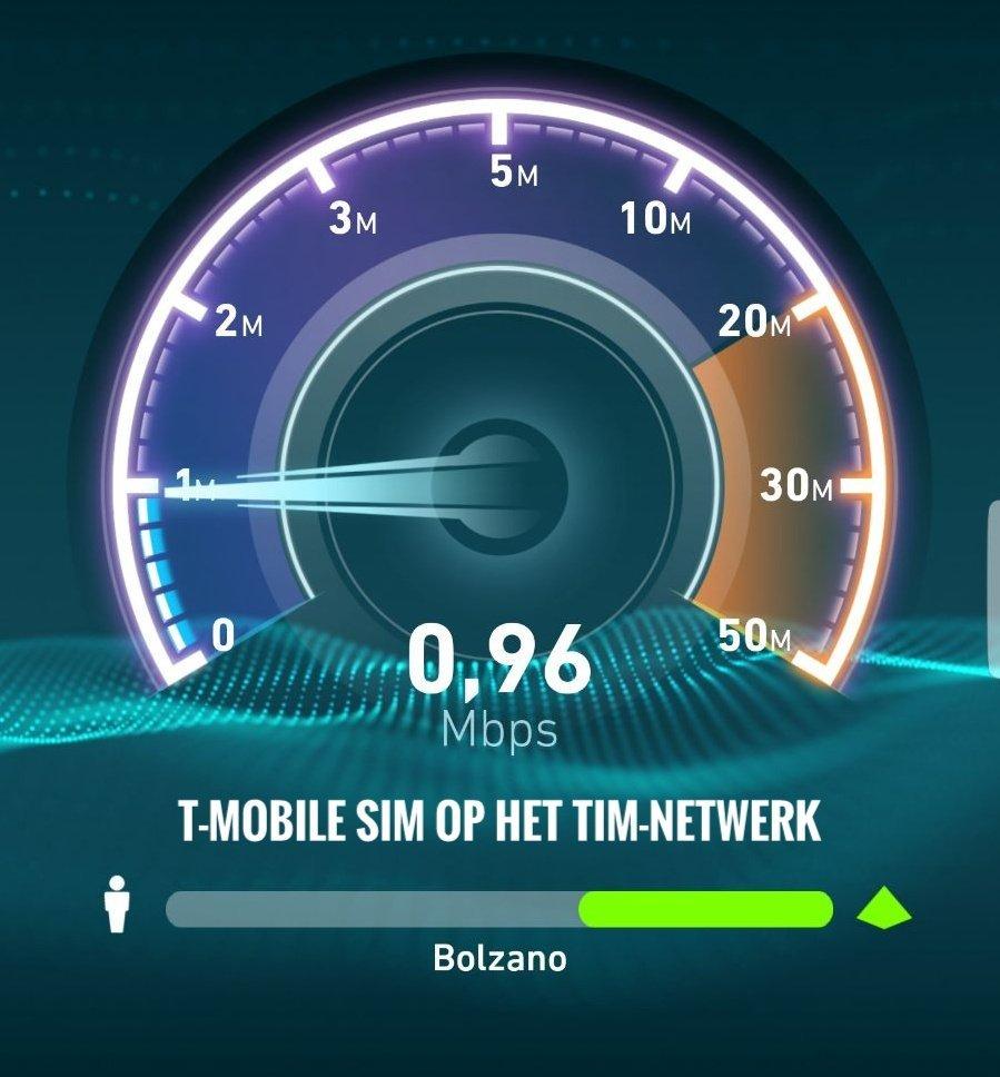 T-Mobile SIM traag