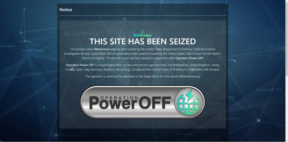 webstresser power off